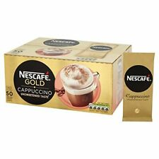 Nescafe Cappuccino (Unsweetened) Coffee Sachets - 1x50sachet