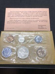 1963 Proof Set Silver Coin Set COA Original Packaging