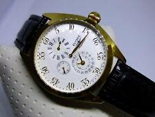 Elysee Regulator Automatik Einzeiger Uhr creme gold 49039 - Made in Düsseldorf