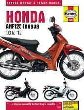 Honda ANF125 Innova 02 to 12 Haynes Service & Repair Manual Hardback 4926