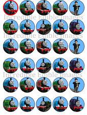 30 Thomas The Tank Engine Train Edible WAFER Cupcake Topper-PRE CUT
