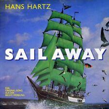 "7"" HANS HARTZ Sail Away deutsch/englisch BECK'S BIER Reklame Werbung ARIOLA 1991"