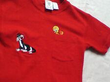 """New/Unworn. Rare Vintage Warner Bros.Tweety & Sylvester T-Shirt. 34"""" chest."""