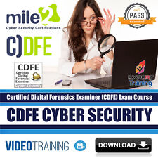 Certified Digital Forensics Examiner - CDFE Exam Video Training Course DOWNLOAD