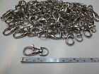 Metal Lanyard Hook Swivel Snap Lobster Trigger Clasp Clips 10 25 50 100 500 1000