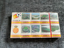 More details for world cup spain 1982 football soccer match box matches factory sealed