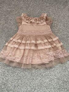 Baby Girls Next Dress 6-9 Months