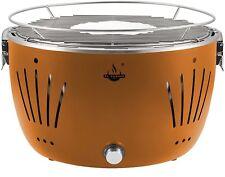 El Fuego Grill Rauchfreier Holzkohlegrill Tulsa inkl. Gebläse orange AY 5252