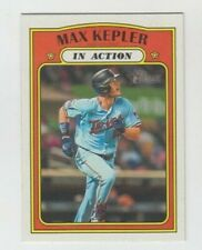 (10) Max Kepler 2021 TOPPS HERITAGE IN ACTION CARD LOT #120 MINNESOTA TWINS