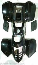 FJQ10 FAIRING PLASTICS JQ107 BODY WORK BLACK FOR 50CC - 110CC QUAD BIKE ATV
