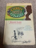 RARE Charlie and the Chocolate Factory Roald Dahl 1973 Printing - Hardcover