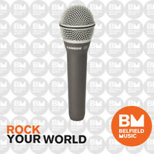 Samson Q8 Microphone Handheld Dynamic Hand Held Mic - BNIB - Belfield Music