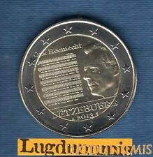 2 euro Commémo - Luxembourg 2013 Hymne National Luxembourg