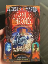 Game Of Thrones Paperback Book 1998 Variant Art Cover Rare George RR Martin