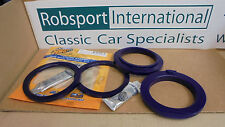 Triumph Stag 2000 ** KIT OF 4 Front SPRING INSULATOR PAD ** POLY 2500 2.5PI
