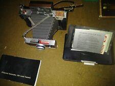 Vtg Polaroid Automatic 100 Land Camera 1960's Original Casé Instructional Manuel