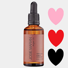 JOSIE MARAN 100% Pure Organic ARGAN OIL Moisturizer Face Hair Skin 1.7oz SEALED!