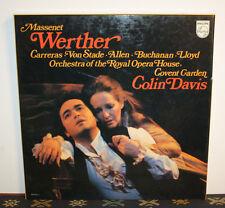 Massenet - Werther - Colin Davis [3 x LP Box, Opera, Made in Netherlands] Vinyl