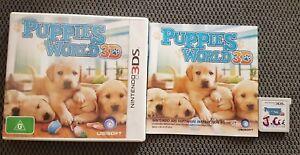 Puppies World 3D  Nintendo 3DS  Free Postage