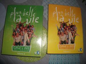 LOT 2 COFFRET NEUF 5 DVD SERIE PLUS BELLE LA VIE-FR.3 / VOLUME 4 ET 5 SAISON 1