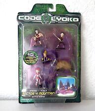 Code Lyoko secteur 4: montagne scène de bataille, épisode 11 peste lot Épuisé RARE SEALED