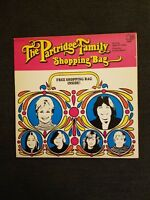 THE PARTRIDGE FAMILY SHOPPING BAG BELL 6072 ORIG 1972 SLEEVE AND VINYL EXCELLENT
