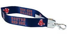 Boston Red Sox Wristlet Lanyard [NEW] MLB Keychain Key Chain Car Auto