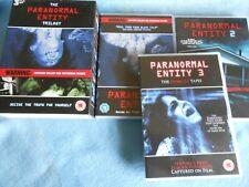 Supernatural Horror Movies - THE PARANORMAL ENTITY TRILOGY Boxset
