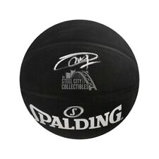 Joel Embiid Autographed Black Spalding Basketball - Fanatics