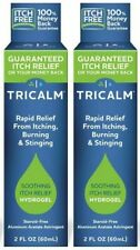 2 - TriCalm Soothing Relief From Itching Burning Stinging 2 oz Hydrogel 2oz Tube