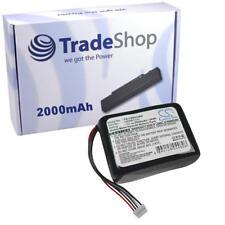 AKKU für LOGITECH SQUEEZEBOX RADIO 2000mAh battery accu
