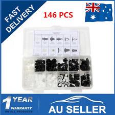 146Pcs Plastic Car Door Hood Bumper Trim Clip Body Retainer Mixed Fastener Kit