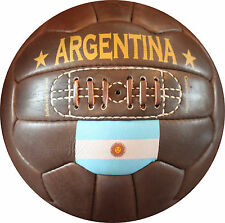 Argentina - Vintage Leather Soccer Ball 1966 -- 100% leather | TOP SELLER