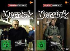 6 DVDs * DERRICK BOX 3 + 4 (FOLGE 19-36) IM SET (MB) - Horst Tappert # NEU OVP !