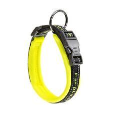 Ferplast Sport Dog Matic Neon Yellow Adjustable Dog Collar