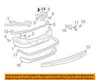 VW VOLKSWAGEN OEM Rear Bumper-Impact Bar Reinforcement Rebar Bolt N10141003