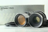 [Exc+3 Lens Set] Mamiya Sekor C 127mm F3.8 + 360mm F6.3 for RB67 Pro S SD Japan