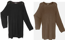 H&M Patternless Long Sleeve Women's Jumpers & Cardigans