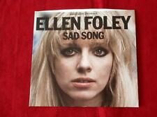 ELLEN FOLEY~ SAD SONG~ RARE PROMO~ NEAR MINT~ EPIC 9-50839 ~ POP 45