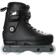 Them 909 Black/Grey Aggressive Inline Skates Mens DUAL 7.0/8.0 NEW