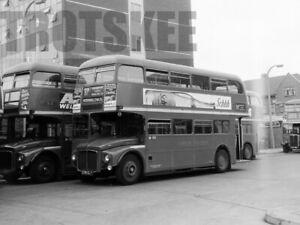 35mm Negative London Transport AEC Routemaster PR 230CLT RM1230 Hounslow 1965