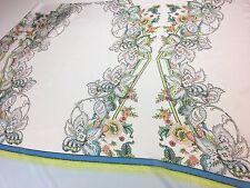 ROBERTO CAVALLI silk chiffon fabric for dress, Made in Italy, 1,05 m / 1,15 yd