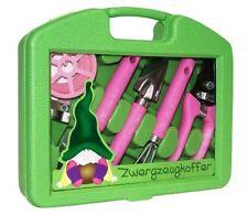 Mimi's little Garden ** Zwergzeugkoffer 5-teilig ** Gartenwerkzeug * Trendimport