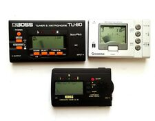 Boss Tu-80 Digital Tuner & Metronome Or Sabine Mt-9000 Metronome