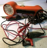 Vintage BELL SYSTEM Western Electric Lineman Orange Phone