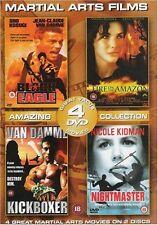 Martial Arts Films - Black Eagle / Fire on the Amazon / Kickboxer / Nightmaster