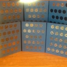 Jefferson Nickels Set 1962 - 2017 in Whitman/Harris Coin Folders; PDS Mints