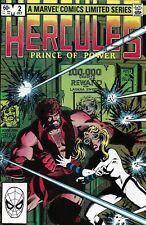 Hercules Comic Issue 2 Limited Series Bronze Age First Print 1982 Layton Parker