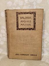 Balaam and His Master by Joel Chandler Harris 1891