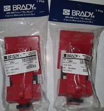 Brady 65397 Clamp-On Breaker Lockout Qty 3